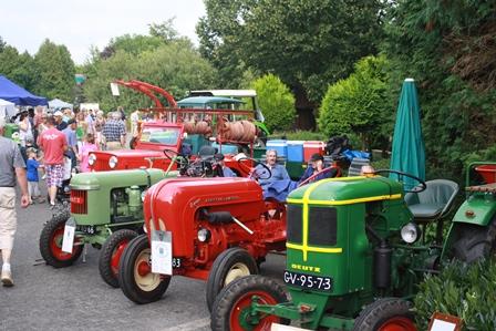 Braderie 2012, Tractorshow