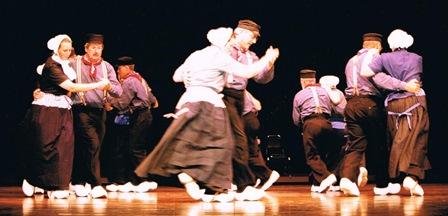 Optreden op het grote podium van het prachtige Art Theater van Rockland Country, New York