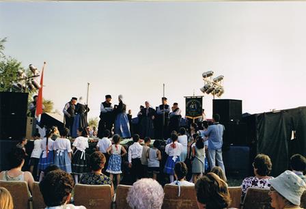 Optreden in Hongarije