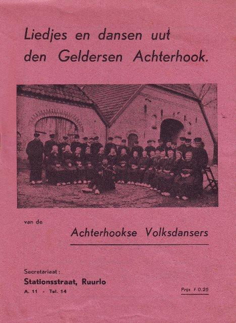 Liedjesboek uit 1948