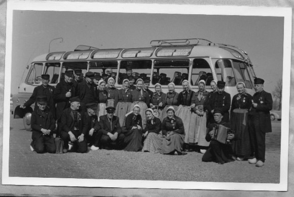 1953 Op reis met de bus