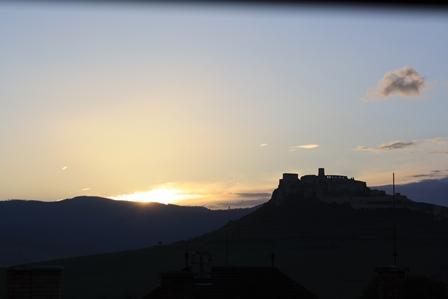 Spisské Hrad staat op de wereld erfgoed lijst van Unesco