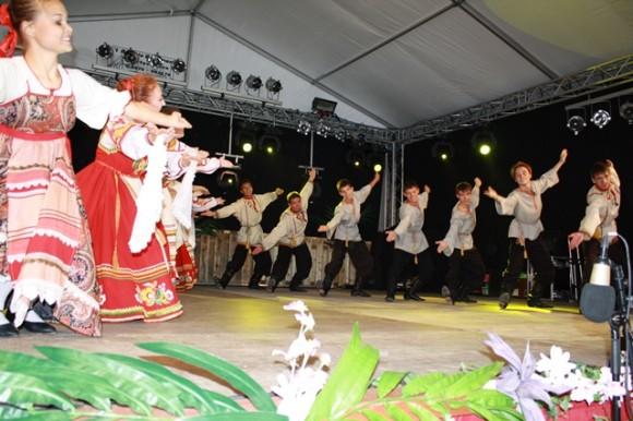 Dansgroep Kristall uit Kazan Rusland