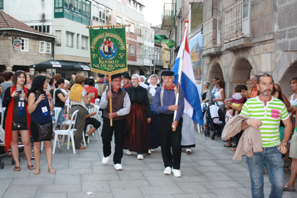 Parade in Porriño