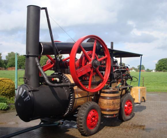 Stoommachine van Joop Wesselink
