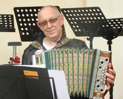 Frans Klein Nijenhuis, Steirische harmonica