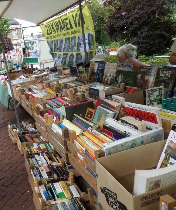 Braderiemarkt 2015 - boekenkraam